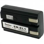 Batterie pour NIKON EN-EL1 (2CR5) 7.4V Li-Ion 900mAh