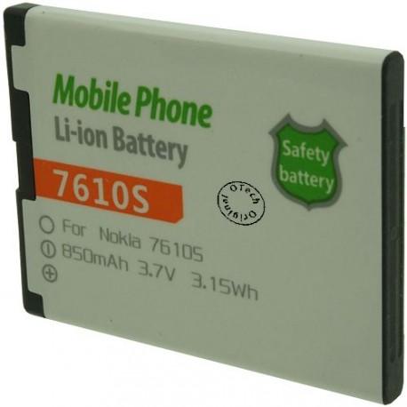 Batterie pour NOKIA 7610S 3.7V Li-Ion 850mAh