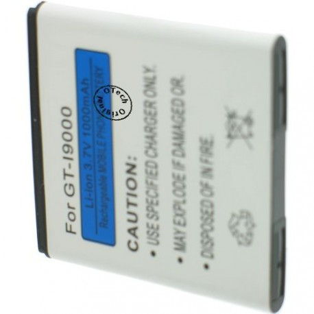 Batterie pour SAMSUNG I9000 3.7V Li-Ion 1250mAh