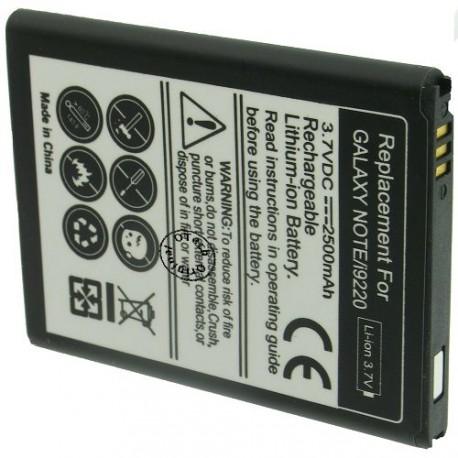 Batterie pour SAMSUNG GALAXY Note / i9220 3.7V Li-Ion 2500mAh