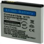 Batterie pour LG GC900 / GM730 / GT500 3.7V 1000mAh