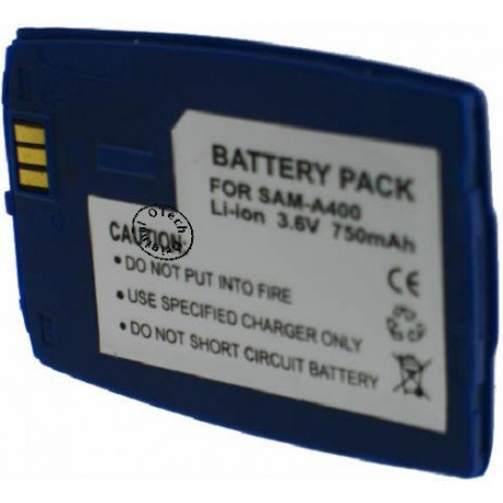 Batterie pour SAMSUNG A400 blue 3.6V Li-Ion 700mAh
