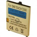 Batterie pour ONE TOUCH C550 3.7V Li-Ion 700mAh