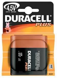 Pile 3lr12 alcaline par 1 4 5v duracell plus - Pile plate 4 5v ...