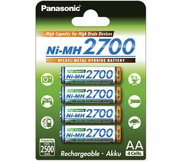 Pile aa rechargeable 2700 panasonic 1 2v - Pile aa rechargeable ...