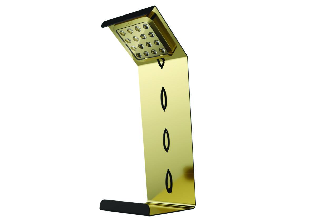 lampe de bureau led de couleur or. Black Bedroom Furniture Sets. Home Design Ideas