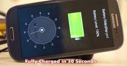 un chargeur rapide de smartphone