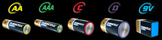 Duracell Color Code