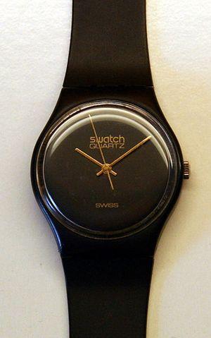 Image d'une montre swatch