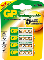 piles rechargeables AA