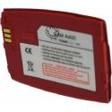 Batterie pour SAMSUNG A400 red 3.6V Li-Ion 750mAh