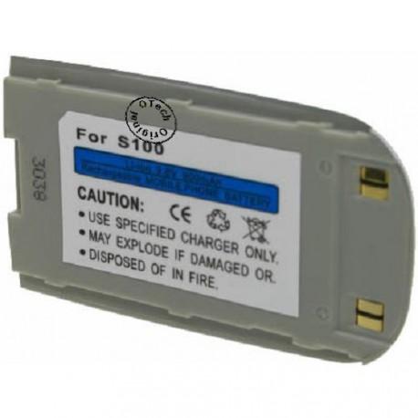 Batterie pour SAMSUNG S100 silver 3.6V Li-Ion 900mAh