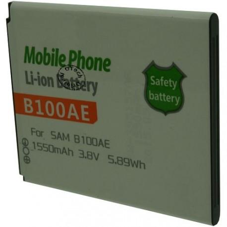 Batterie pour SAMSUNG B100AE 3.8V Li-Ion 1550mAh