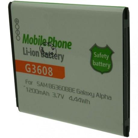 Batterie pour SAMSUNG G3608 3.7V Li-Ion 1200mAh