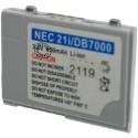 Batterie pour NEC 21i / DB7000 3.6V Li-Ion 600mAh