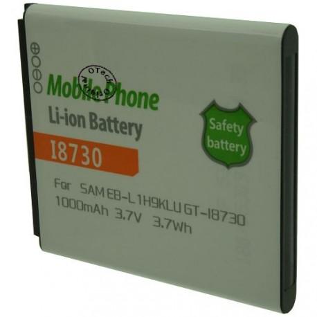 Batterie pour SAMSUNG GT-I8730 / EB-L1H9KLU 3.7V Li-Ion 1000mAh
