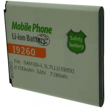 Batterie pour SAMSUNG EB-L1L7LLU / I9260 3.8V Li-Ion 2100mAh