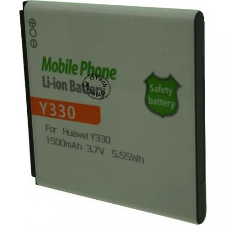 Batterie pour HUAWEI Y330 3.7V Li-Ion 1500mAh