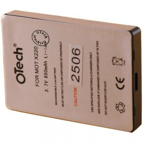 Batterie pour MOTOROLA X220 3.6V Li-Ion 900mAh