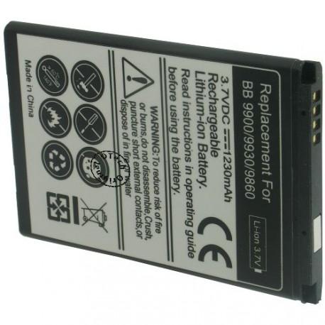 Batterie pour BLACKBERRY 9900 3.7V Li-Ion 1230mAh