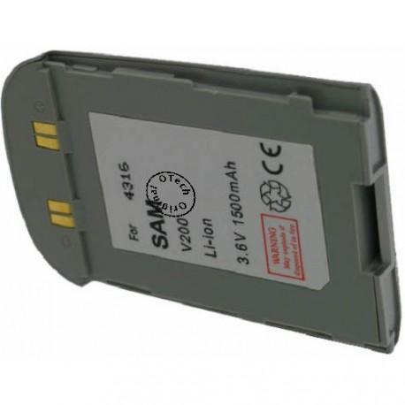 Batterie pour SAMSUNG V200 3.6V Li-Ion 950mAh