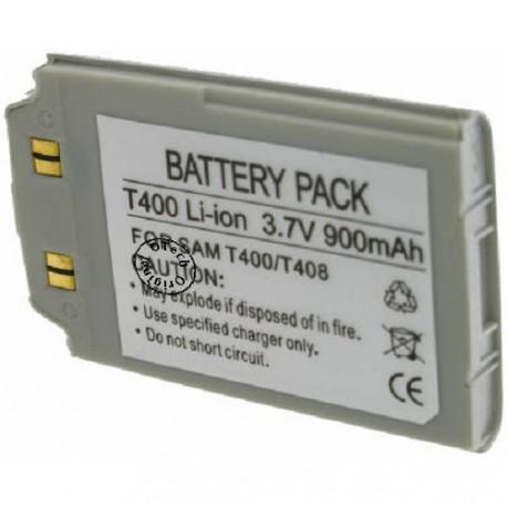 Batterie pour SAMSUNG T400 / T408 3.6V Li-Ion 900mAh