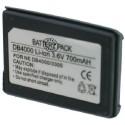 Batterie pour NEC DB40003.6V Li-Ion 700mAh