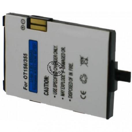 Batterie pour ALCATEL OT156 / 355 3.6V Li-Ion 650mAh