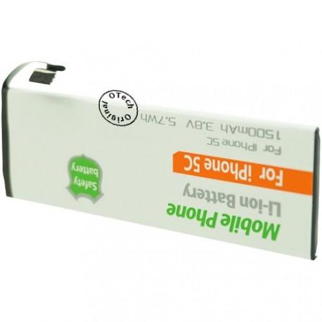 Batterie pour iPhone 5C 3.8V 1500mAh sans outils