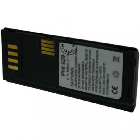 Batterie pour PHILIPS LIPS XENIUM 929 3.7V Li-Ion 800mAh