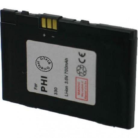 Batterie pour PHILIPS 330 3.6V Li-Ion 700mAh