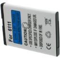 Batterie pour NOKIA BL-4B / 6111 3.7V Li-Ion 600mAh