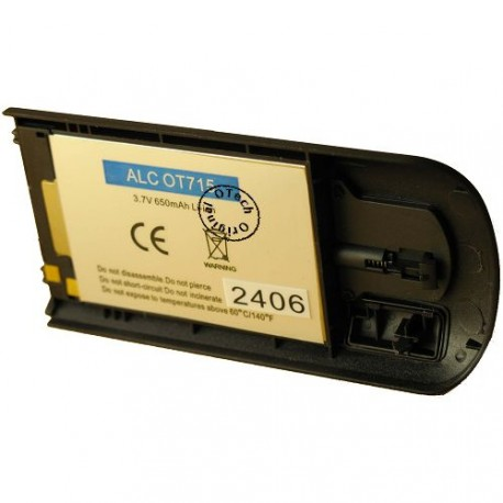 Batterie pour ALCATEL OT715 3.7V Li-Ion 650mAh