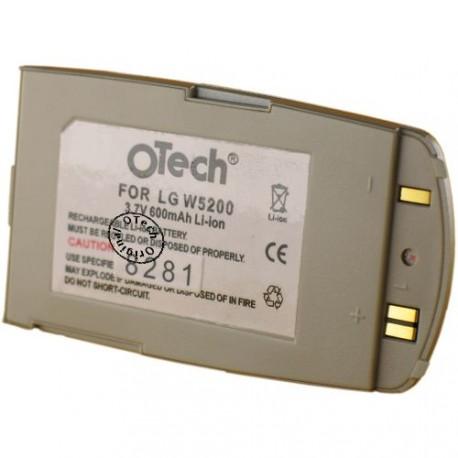 Batterie pour LG W5200 3.6V Li-Ion 600mAh