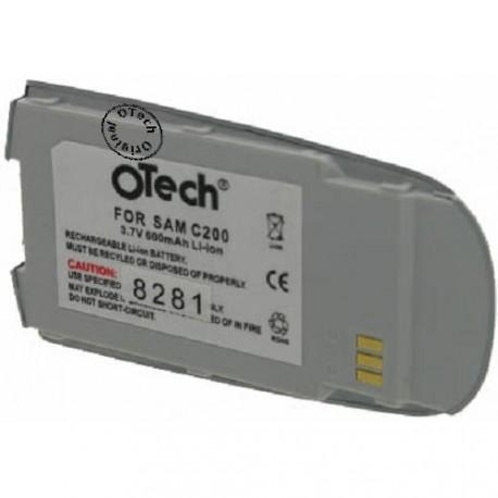 Batterie pour SAMSUNG C200 3.7V Li-Ion 600mAh