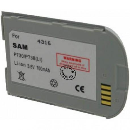 Batterie pour SAMSUNG P730 3.6V Li-Ion 700mAh