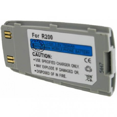 Batterie pour SAMSUNG R200 Silver 3.6V Li-Ion 1000mAh