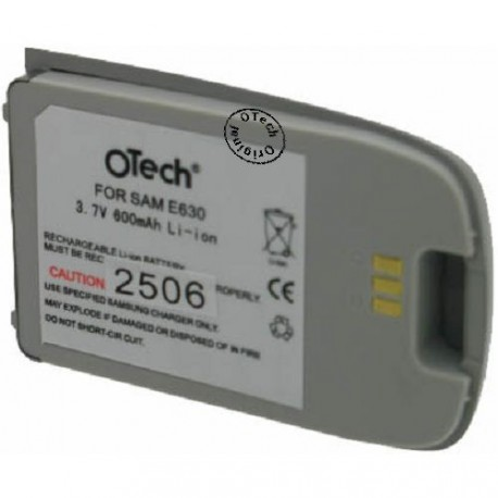 Batterie pour SAMSUNG E630 3.6V Li-Ion 500mAh