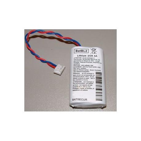 Pile BL2 LiMn02 6V 2Ah pour alarme CESAR LABEL