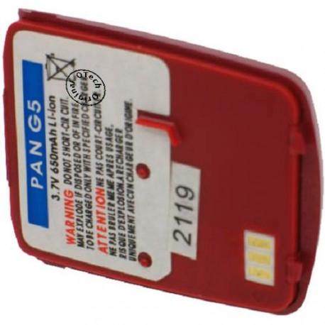 Batterie pour PANASONIC G5 / G50 red 3.7V Li-Ion 650mAh