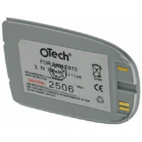 Batterie pour SAMSUNG E810 3.6V Li-Ion 700mAh