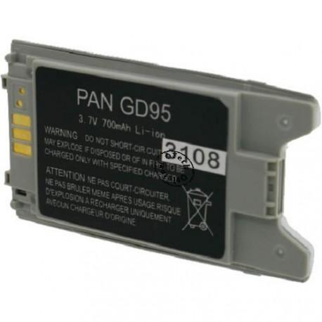 Batterie pour PANASONIC GD95 3.6V Li-Ion 650mAh