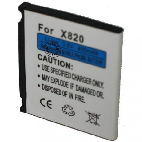 Batterie pour SAMSUNG X820 3.7V Li-Ion 700mAh