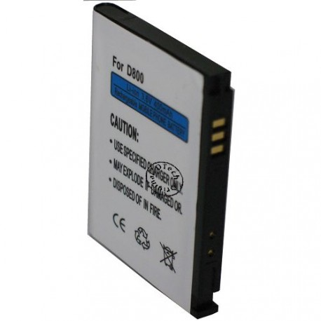 Batterie pour SAMSUNG D800 3.6V Li-Ion 400mAh