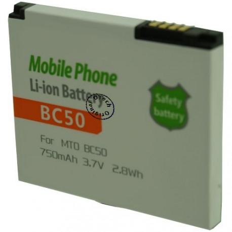 Batterie pour MOTOROLA BC50 3.7V Li-Ion 750mAh
