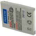 Batterie pour PANASONIC X700 3.7V Li-Ion 500mAh