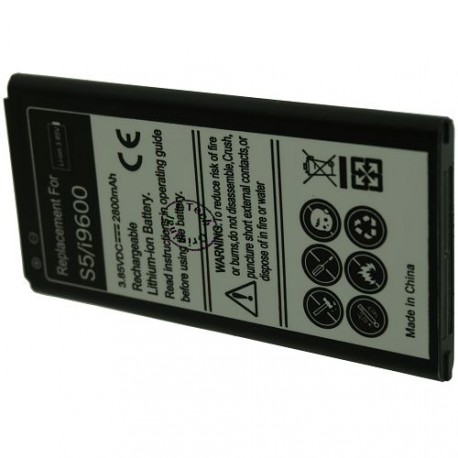 Batterie pour SAMSUNG Galaxy S5 3.8V 2800mAh