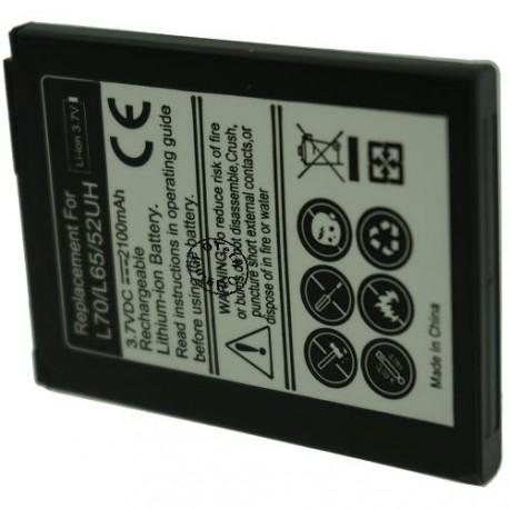 Batterie pour LG L70 / L65 / 52UH 3.7V 2100mAh