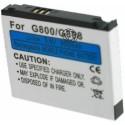 Batterie pour SAMSUNG G800 3.7V Li-Ion 1050mAh
