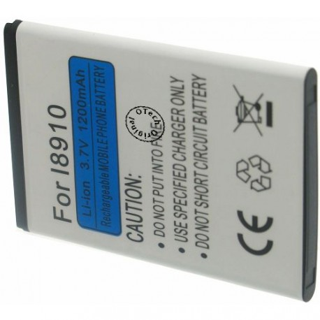 Batterie pour SAMSUNG I8910 3.7V Li-Ion 1500mAh